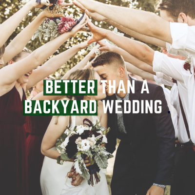 Why a Wedding Venue is Better than a Backyard Wedding