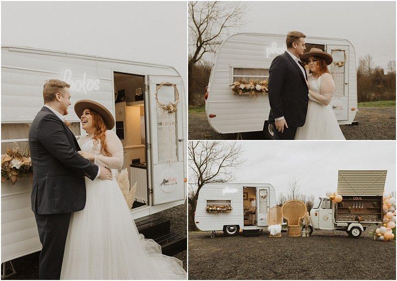 boho wedding styled shoot at pemberton farm in snohomish